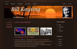 Bill Kaysing Tribute Website