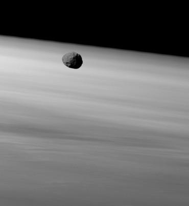 Phobos ripreso dal Mars Express il 22 Gennaio 2010