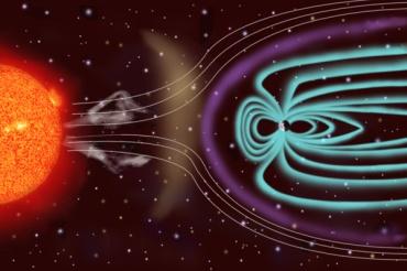 Vento solare e campo magnetico terrestre