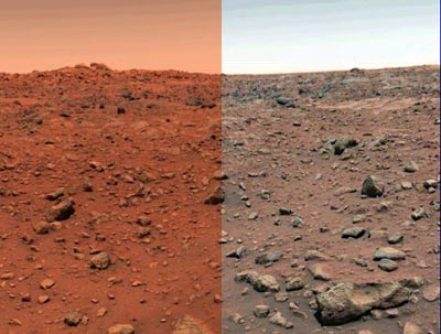 Veri colori di Marte (6/6)