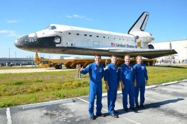 Equipaggio dell'ultima missione dello Shuttle.