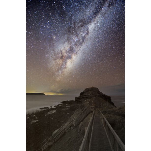 Via Lattea fotografata dall'Australia