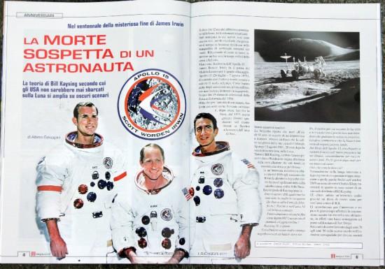 Morte sospetta di un astronauta 1-2