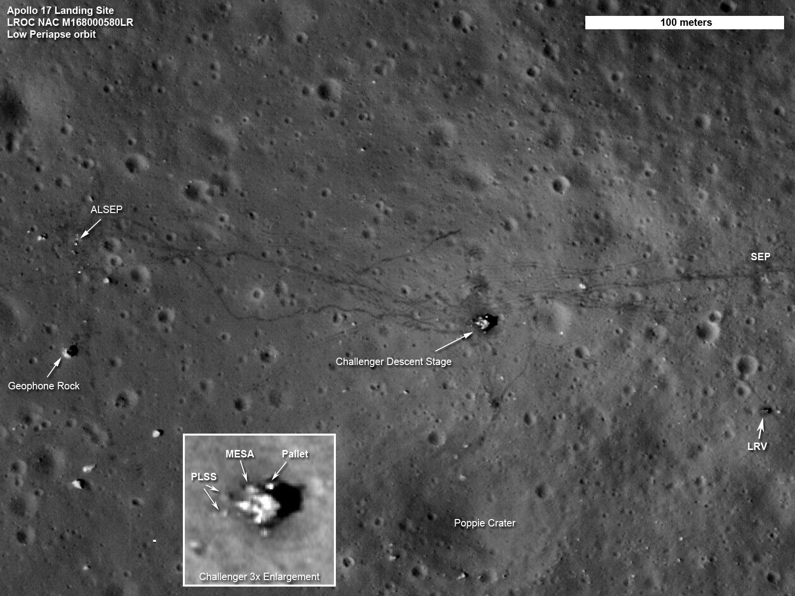 Sito di atterraggio di Apollo 17