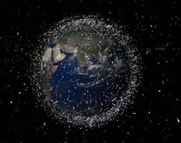 Mappa della 'spazzatura spaziale'