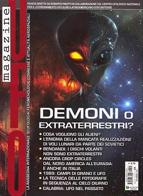 UFO Magazine Settembre 2011 nr 21