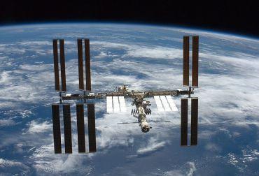 ISS ripresa dallo Shuttle STS-126