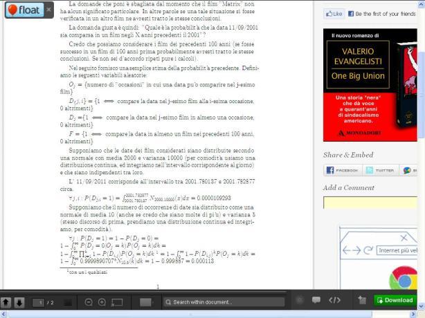 Equazione fondamentale di Matrix