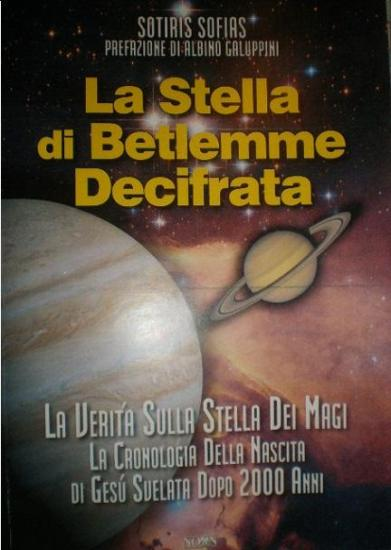 La Stella di Betlemme decifrata (copertina)