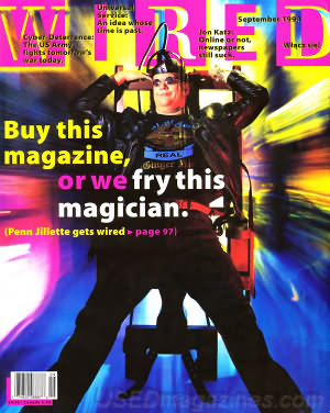 Wired cover Sept, 1994