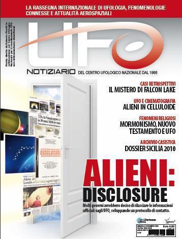 UFO Notiziario dicembre 2011