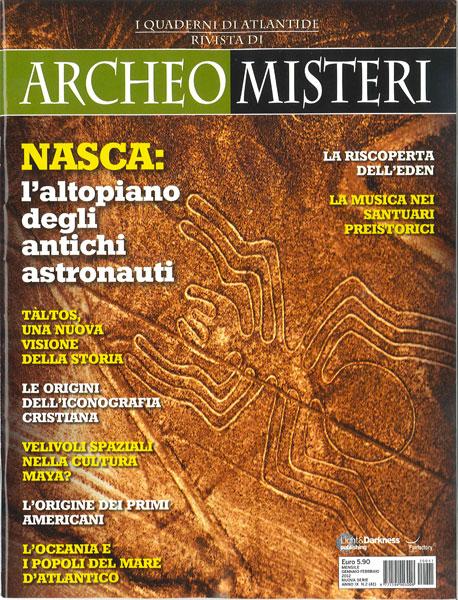 Archeo Misteri Gennaio Febbraio 2012