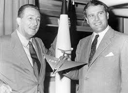 Walt Disney e Wernher von Braun