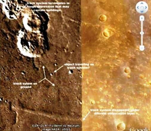 Ferrovia su Marte?
