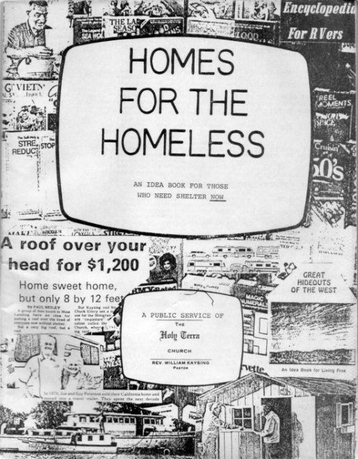 HOMES FOR THE HOMELESS BillKaysing.com
