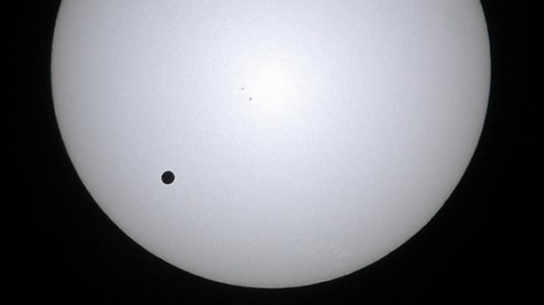 Venere durante il transito del 2004