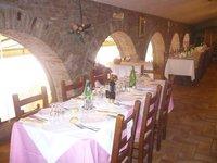 interno del ristorante Lago Solitudo