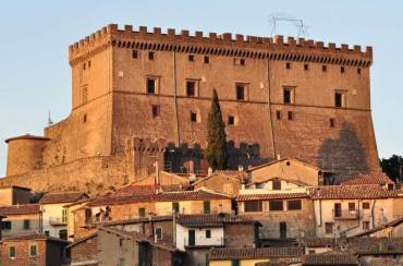 Castello Orsini a Soriano nel Cimino (VT)