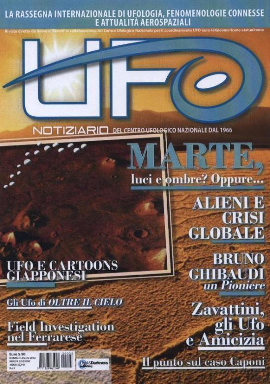 Notiziario UFO luglio agosto 2012