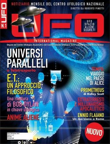 UFO International Magazine dicembre 2012