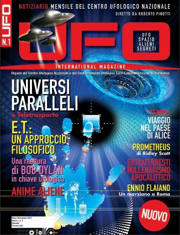 UFO International Magazine dicembre 2012