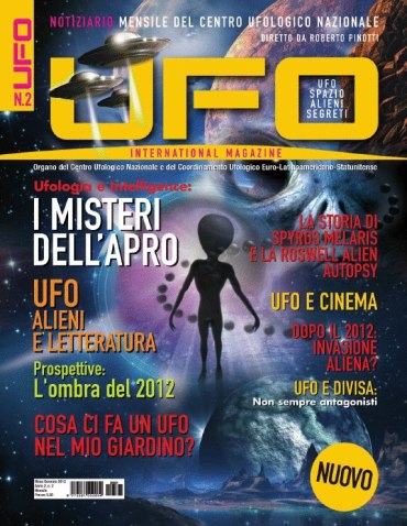 UFO International Magazine gennaio 2013