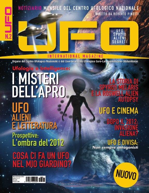 UFO International Magazine gennaio 2013