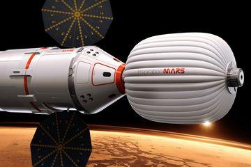 L'astronave Inspiration Mars di Dennis Tito