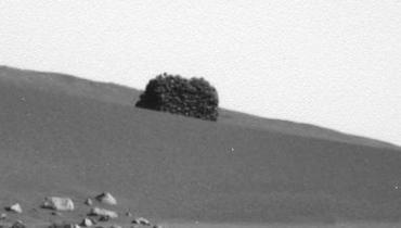Spirit Panoramic Camera: Sol 728 (particolare)