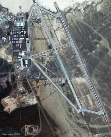 Le installazioni Area 51 fotografate da un satellite-spia sovietico