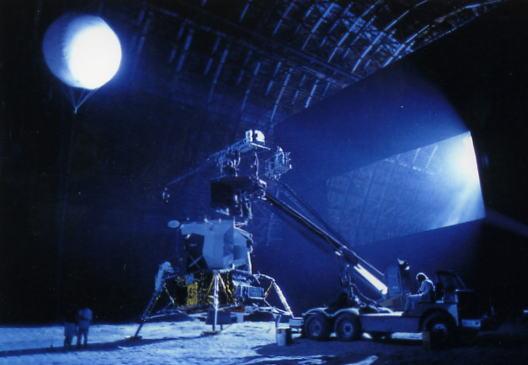 Ricostruzione di un ambiente lunare