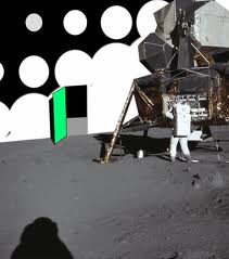 La mancanza di profondità nelle immagini delle missioni Apollo