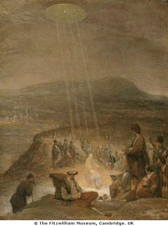 Il Battesimo di Cristo - Aert De Gelder  1710