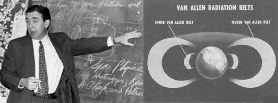 James Van Allen - radiazioni nello spazio