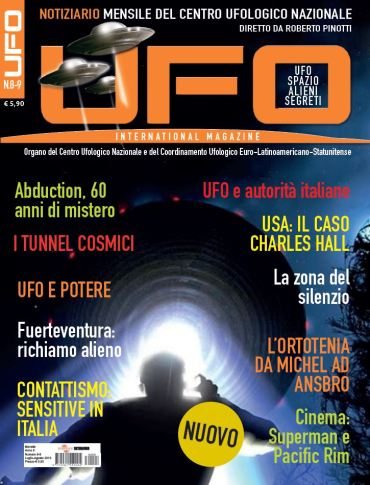 UFO International Magazine luglio - agosto 2013