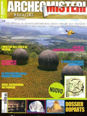 ArcheoMisteri Magazine n° 3 - settembre 2013