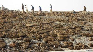 Isola in Pachistan dopo il terremoto