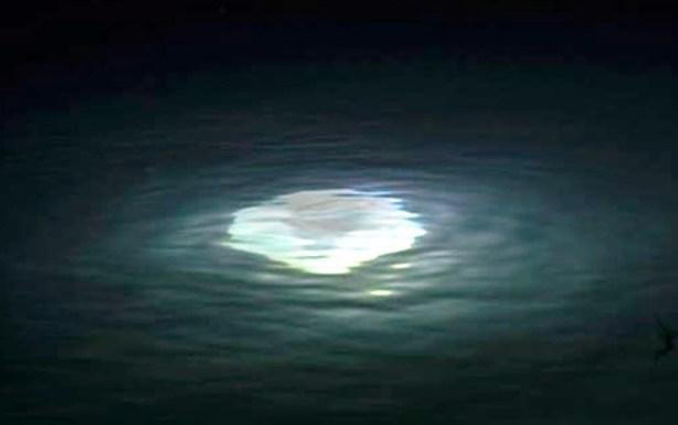 Strani bagliori nel lago Maggiore