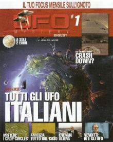 UFO Mystery Digest n° 1 - novembre 2013