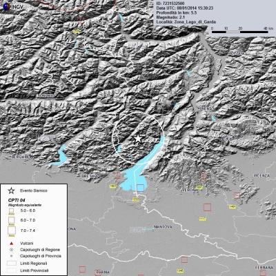 Lago di Garda, terremoto anomalo e scie chimiche Nato