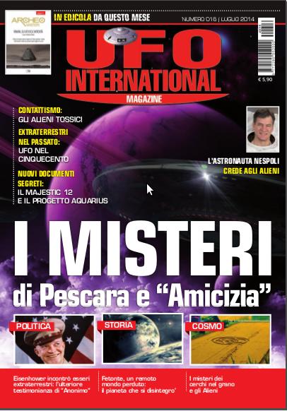 UFO International Magazine luglio 2014