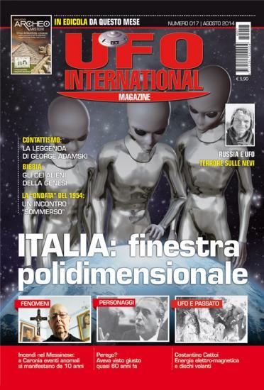 UFO International Magazine agosto 2014 n.17