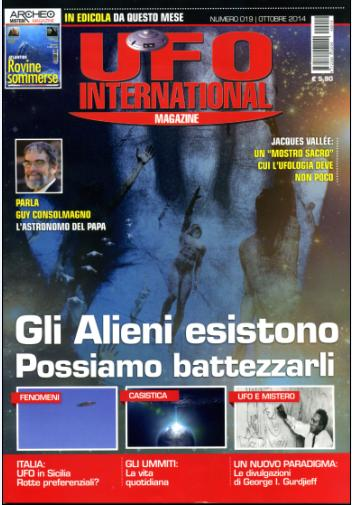 UFO International Magazine - ottobre 2014