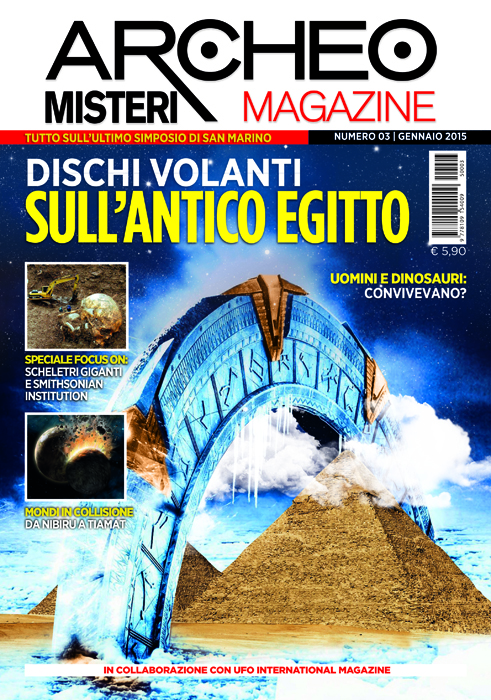 Archeo Misteri Magazine - gennaio 2015