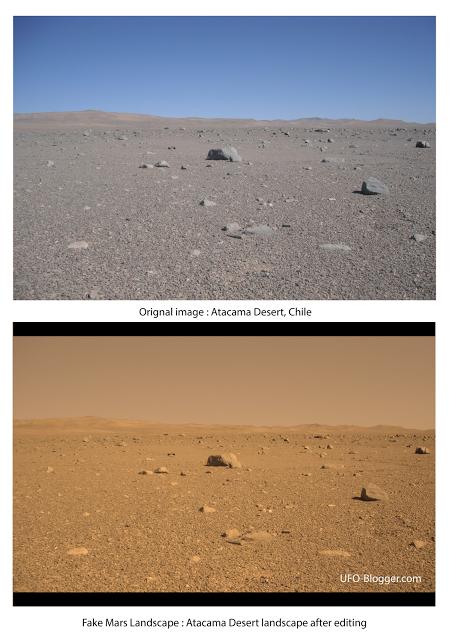 Deserto di Atacama per simulare Marte