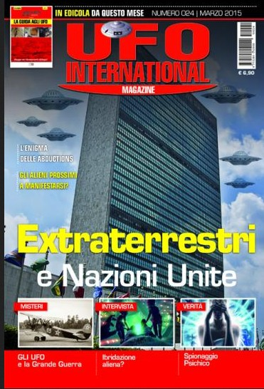 UFO International Magazine - marzo 2015