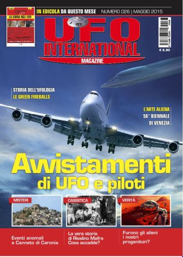UFO International Magazine - maggio 2015