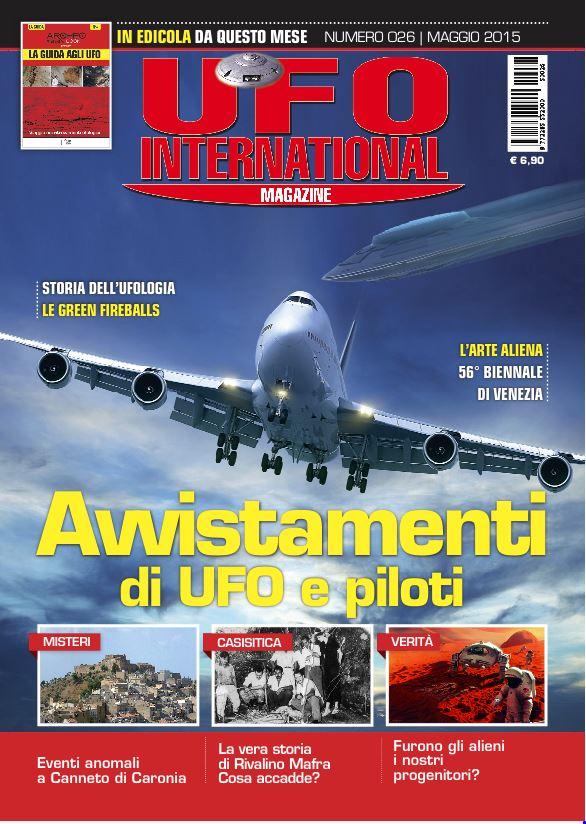 UFO International Magazine - maggio 2015