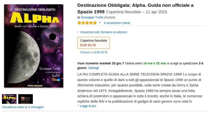Destinazione Obbligata: Alpha. Guida non ufficiale a Spazio 199