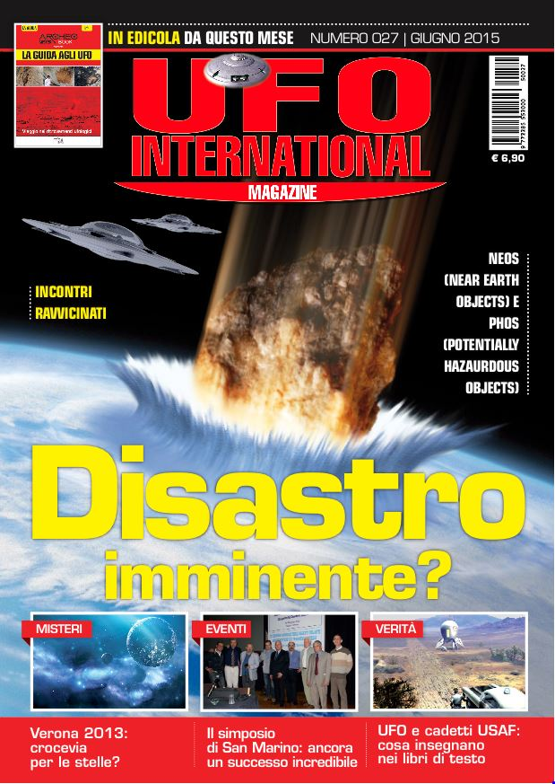 UFO International Magazien giugno 2015